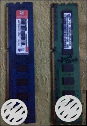 2 x 2 GB DDR3 Ram in warranty