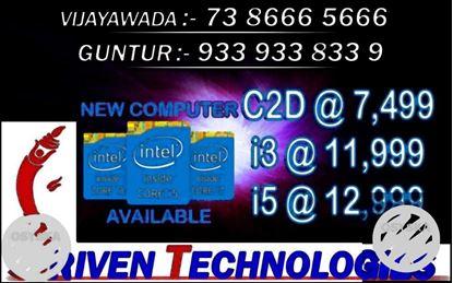 GST READY New Computer 1Year Warranty - SrivenTechnologies Guntur Amar