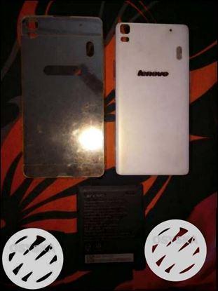 Lenovo K3 NOTE:-golden back cover and original