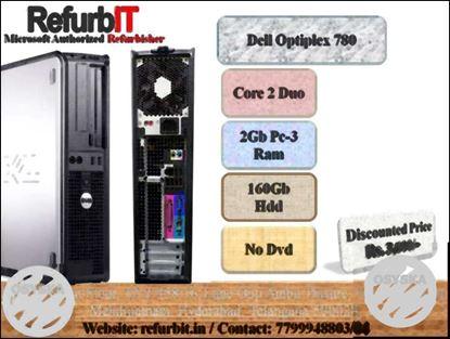 DIwali Dhamaka Offer Dell optiplex 780 C2D 2gb ram 160gb hdd in 36OO/-