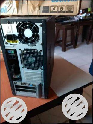 Fully functional high end desktop with led 16 inch montor
