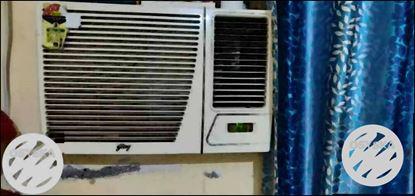 White Godrej Window-type Air Conditioner Unit