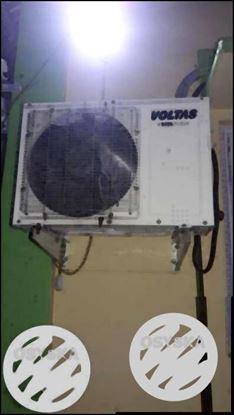 White Voltas Split-type AC Unit Condenser