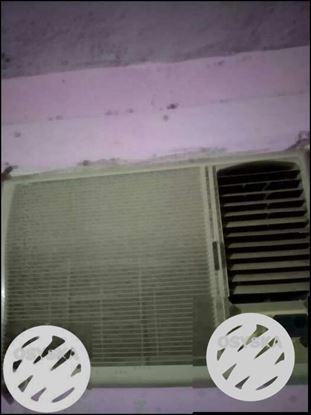 White LG Window-type Air Conditioner