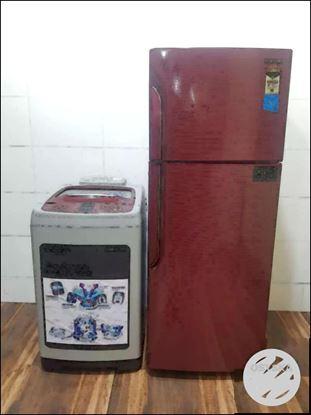 Samsung washing machine and Samsung double  door refrigerator
