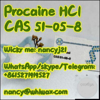 Picture of Procaine hydrochloride CAS 51-05-8 Wickr nancyj21