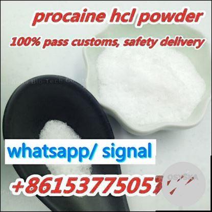 Picture of Factory Price Cas59-46-1 Procaine 99% Purity, Procaine Hcl, sales15@aoksbio.com