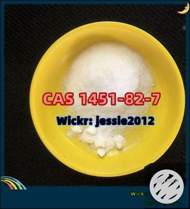 Picture of CAS 1451-82-7  Factory Sale  2-Bromo-4'-methylpropiophenone Wickr:jessie2012