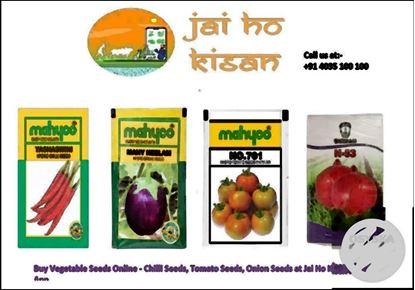 Buy Vegetable Seeds Online - Chilli Seeds, Tomato Seeds, Onion Seeds at Jai Ho Kisan Mobile App